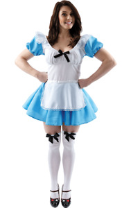 Orion Costumes Womens Traditional Blue Alice In Wonderland Fancy Dress Costume