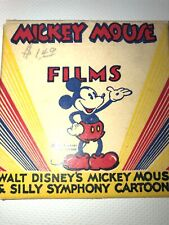 """8MM Film Walt Disney's Mickey Mouse & Silly Symphony Cartoons """"window Cleaners"""""""