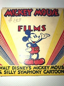 "8MM Film Walt Disney's Mickey Mouse & Silly Symphony Cartoons ""window Cleaners"""