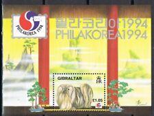 Gibraltar 1994 blok 20 Philakorea 94 Postfris MNH cat waarde € 4