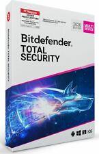 BitDefender TOTAL Security 2020 Multi device 5 dispositivi 1 anno di licenza ESD