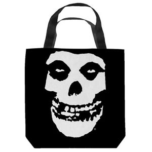 """The Misfits """"Fiend"""" 16 in x 16 in Tote Bag - New"""