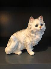 Vintage Andrea By Sadek Persian Ceramic Cat Figurine Japan