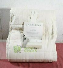 Casaluna- Heavyweight Linen Blend Quilt, Natural, King