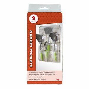 Jokari Cabinet Door Kitchen Tool Holder / Gadget Pockets