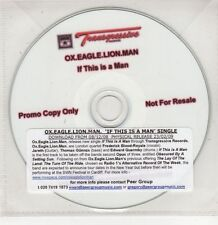 (GU35) Ox.Eagle.Lion.Man, If This Is A Man - 2009 DJ CD