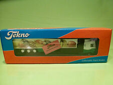 TEKNO HOLLAND DAF 95 480 TRUCK + TRAILER - THE GREENERY 1:50 - RARE - NMIB