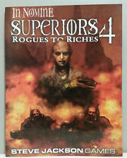Steve Jackson Games In Nomine Superiors 4 Rogues to Riches