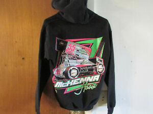 McKenna Haase Sprint Car Kids Sweatshirt Hoodie Size Large