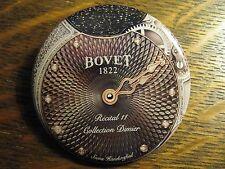 Bovet 1822 Recital 11 Collection Dinier Swiss Watch Advertisement Button Pin