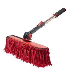 "California Car Duster Triple Threat 14"" W Mop w Extension Handle Home RV 96629"