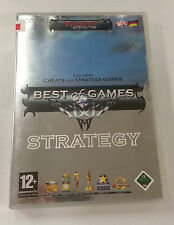 Best of Games: Strategy  (PC DVD, 2006) UK IMPORT