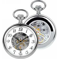 ROYAL LONDON Pocket Watch Jewelled Mechanical Skeleton 90002-01 RRP £99.99