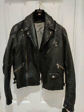 ACNE STUDIOS Leather Biker Jacket Black 46 S Small Chest 36 USED VINTAGE SAMPLE