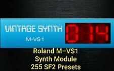 Roland Samples M-VS1 Module /Patches 255 .
