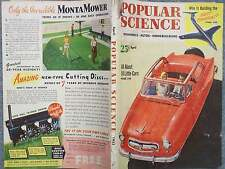1953 POPULAR SCIENCE APRIL  WHO IS BUILDING THE BEST BOMBER  ALL ABOUT 18 LITTLE
