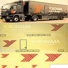 Volvo Renntransporter Yokohama Motorsport 1:87 camion autocollant décalcomanie
