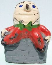 Cast Iron Humpty Dumpty Doorstop Ex