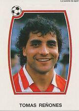N°064 TOMAS RENONES ATLETICO MADRID CROMO PANINI FUTBOL 93 STICKER LIGA 1993