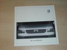 31544) VW Bus T5 Multivan Prospekt 2003
