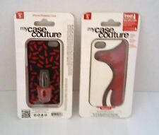 MY CASE COUTURE iPhone 5 Protector Case with OPI Nail Polish -BIG APPLE RED