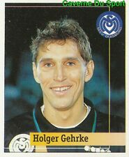 205 HOLGER GEHRKE GERMANY MSV DUISBURG STICKER FUSSBALL 1995 PANINI