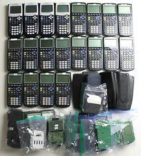 Huge Lot Of Ti 84 Plus Ampti 83 Plus Graphing Calculators For Parts Or Repair