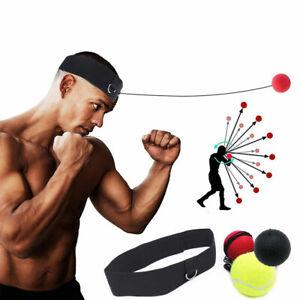 3Pcs Boxing Reflex Speed Punch Ball Training Hand Eye Coordination&Head Reaction