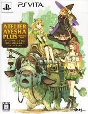 [FROM JAPAN][PSVITA] Atelier Ayesha Plus: The Alchemist of Dusk Premium Box ...