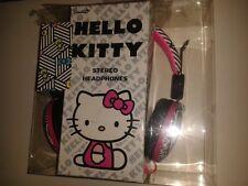 HELLO KITTY * PINK NEON Headphones for iPod, MP3, Nintendo NEW BOX DAMAGE