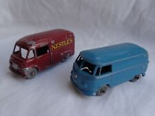 "Vintage Matchbox Lesney No34 VW T1 Transporter & No69 Commer ""NESTLE"" Van GPW"