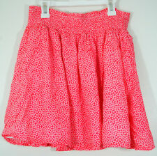 Old Navy Womens Skirt Size Small A-Line Pull On Floral Print Cotton Elastic