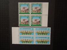 G1562 SAUDI ARABIA  1988  INAUGERATION  KING  FAHD  BLOCKS  OF  4   MNH