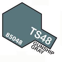 Peinture Spray Pour Plastique 100 Ml. Gunship Gris Ts48 Tamiya