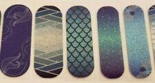 Sapphire Seas Mermaids ~ Jamberry nail wraps ~ Disney custom Half sheets