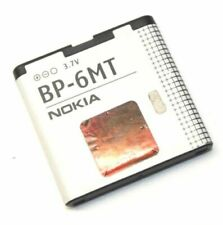 Lot of 2 Genuine Nokia BP-6MT Battery 3.7V 1050mAh E51 N81 N82 6350 6750 5610