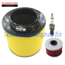 Air Filter For Honda Foreman 400 450 Rancher 350 Fuel Oil Filter With Spark Plug