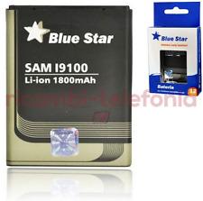 batería original Azul Estrella Premium para Samsung Galaxy S2 i9100 1800mAh