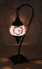 Multicolour Turkish Moroccan Mosaic Table Lamp Lampshade Hand Made Small Globe
