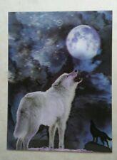 Wolf lenticular print