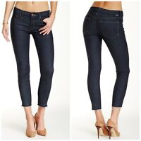 Mother The Looker Ankle Fray High-Rise Skinny Jeans Woman Size 31 New