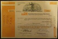 Consolidated Edison Company of New York, Stock Certificate (10 shares)