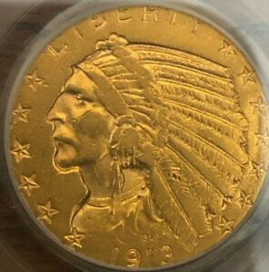 BU ~ 1913-S $5 PCGS XF45 INDIAN HEAD GOLD EAGLE