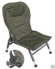 BRAND NEW PADDED ADJUSTABLE RECLINING CHAIR (115) WITH PILLOW FOR CARP FISHING