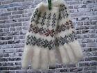 Women's winter gloves goat down homemade knitted Russian angora craft warm soft