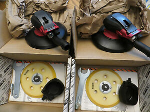 "Auto Body Pneumatic 6"" Random Orbit Sander Made in England NIB"