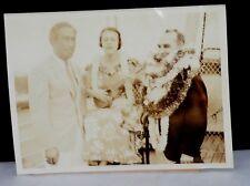 RARE! 1935 Duke Kahanamoku, Hawaiian Surfing & Swimming Champion Original  Photo