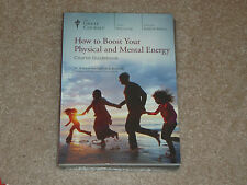 Teaching Co Great Courses  How to Boost Your Physical and Mental Energy DVD NEW