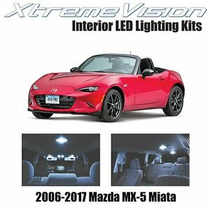 XtremeVision LED for Mazda MX-5 Miata 2006-2017 (2 Pieces) Cool White Premium...