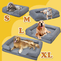 Pet Dog Cat House Sofa Bed Cushion House Pet Soft Warm Dog Mat Blanket Large